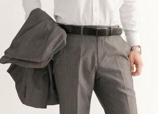 Ремень для классического костюма: выбираем правильно