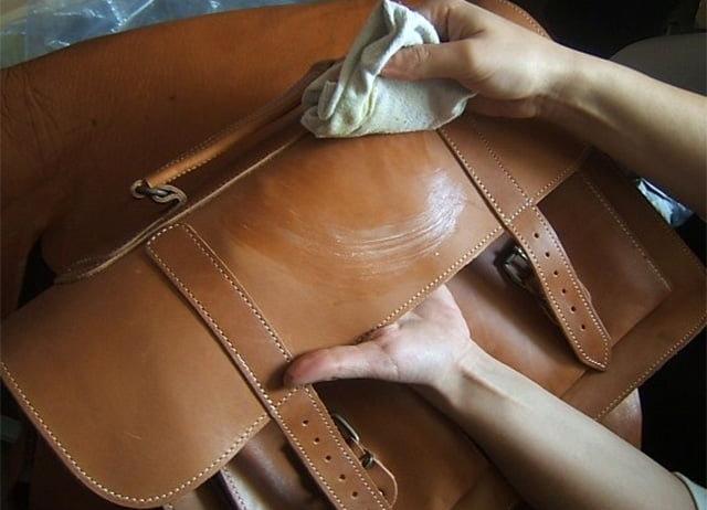 Кожаные сумки и уход за ними