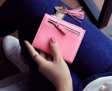 Маленький женский кошелек