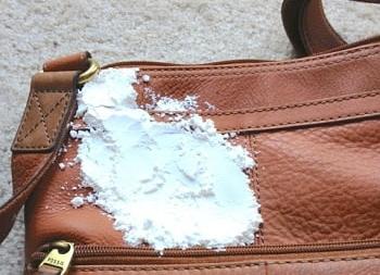 Постирать сумку от чернил