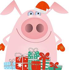 Год Свиньи: что подарить на Новый год