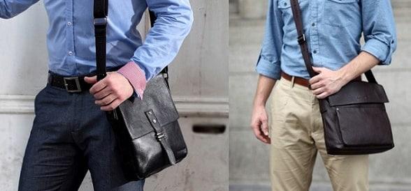 d6b04212de4b Кожаные мужские сумки через плечо - удобный тренд этого лета! | блог ...