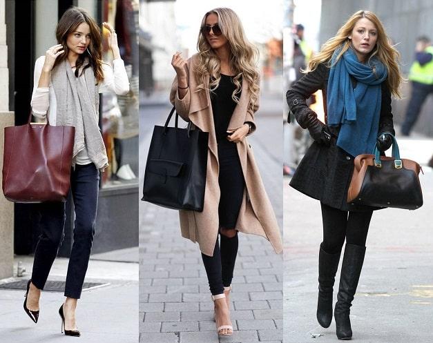Сумки для девушек модельной внешности