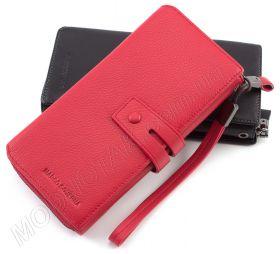 Стильный женский кожаный кошелек красного цвета Marco Coverna (17016) ... 2ccd3e55886