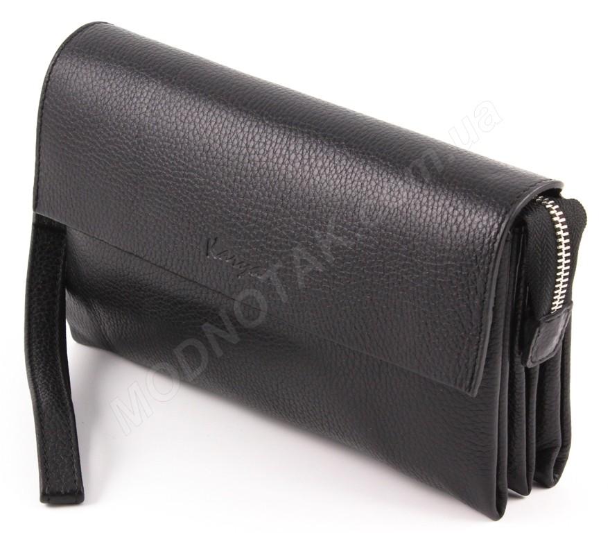 6b9654fe92ca Большой кожаный мужской клатч - барсетка турецкого производителя Karya  (10290)