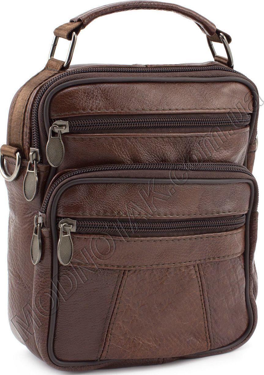 64753683 Мужская сумка из натуральной кожи с ручкой Leather Collection (10040 ...