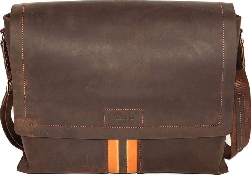 f8782987a7b4 Стильная мужская сумка мессенджер коричневого цвета VATTO (11647 ...