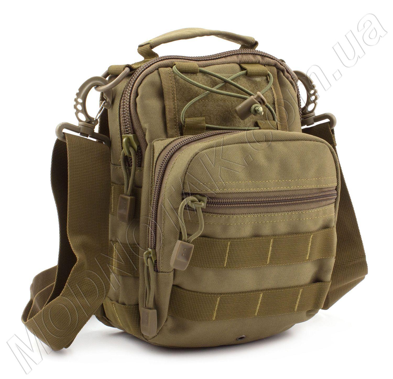 3895b001dbe8 Армейская качественная сумка из ткани MILITARY STYLE (Army-4 Khaki)