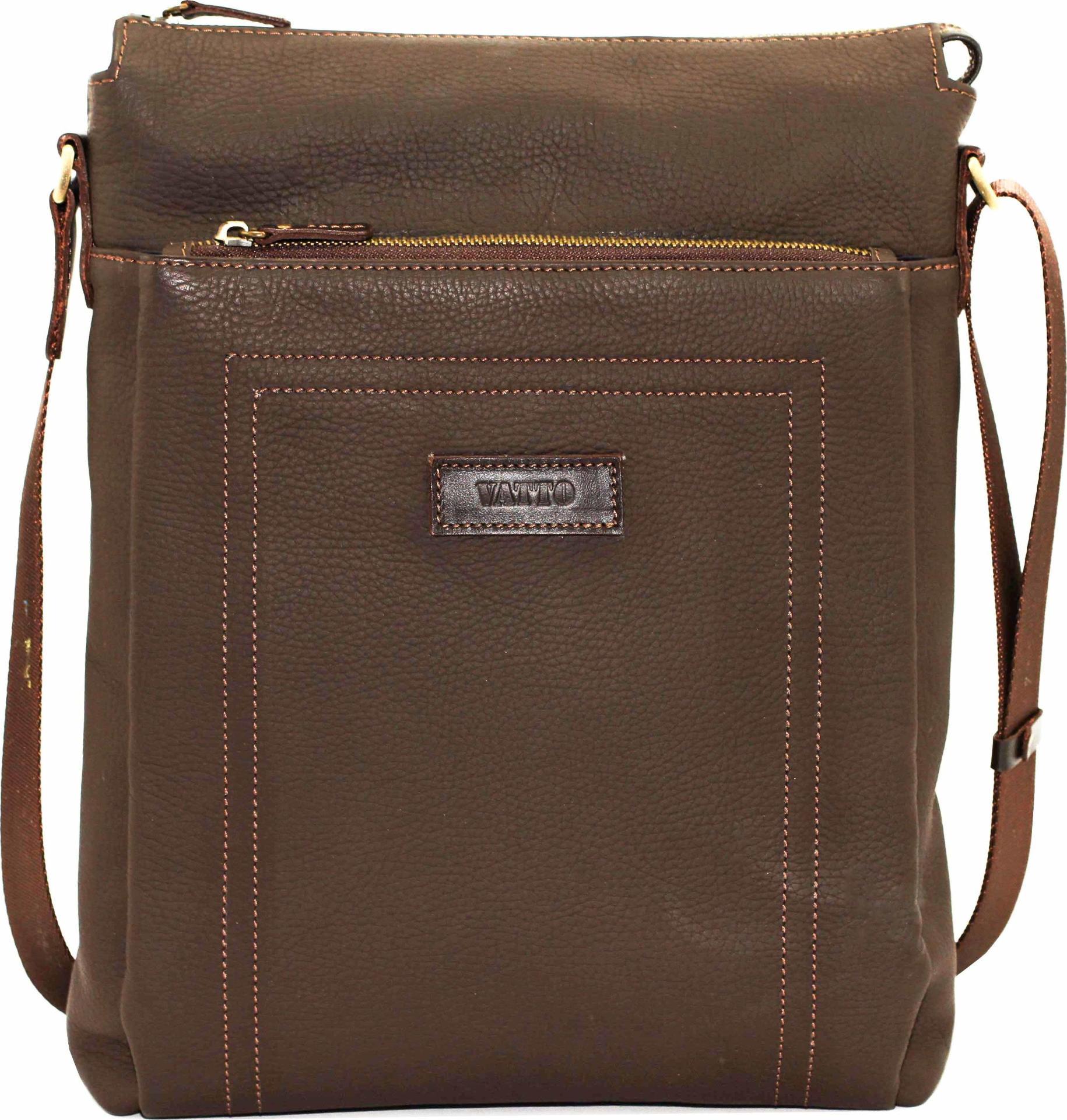 e8de85751424 Мужская сумка коричневого цвета VATTO (12048) купить в Киеве, цена ...