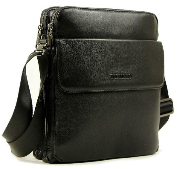 6678711f0ffd Повседневная вертикальная мужская сумка из натуральной кожи TOFIONNO  (0-0024)