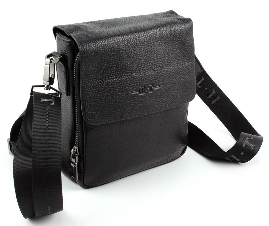 ... Мужская кожаная вертикальная сумочка через плечо H.T Leather (10248) ... 4eb55cdc3f6