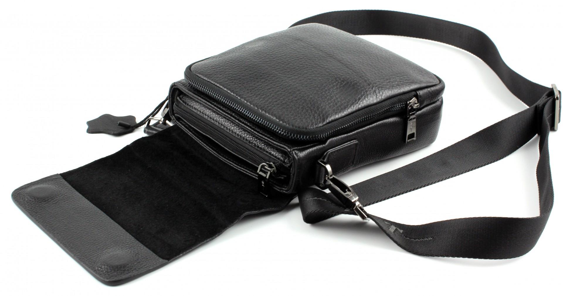 0521458ac99c ... Мужская кожаная вертикальная сумочка через плечо H.T Leather (10248) ...