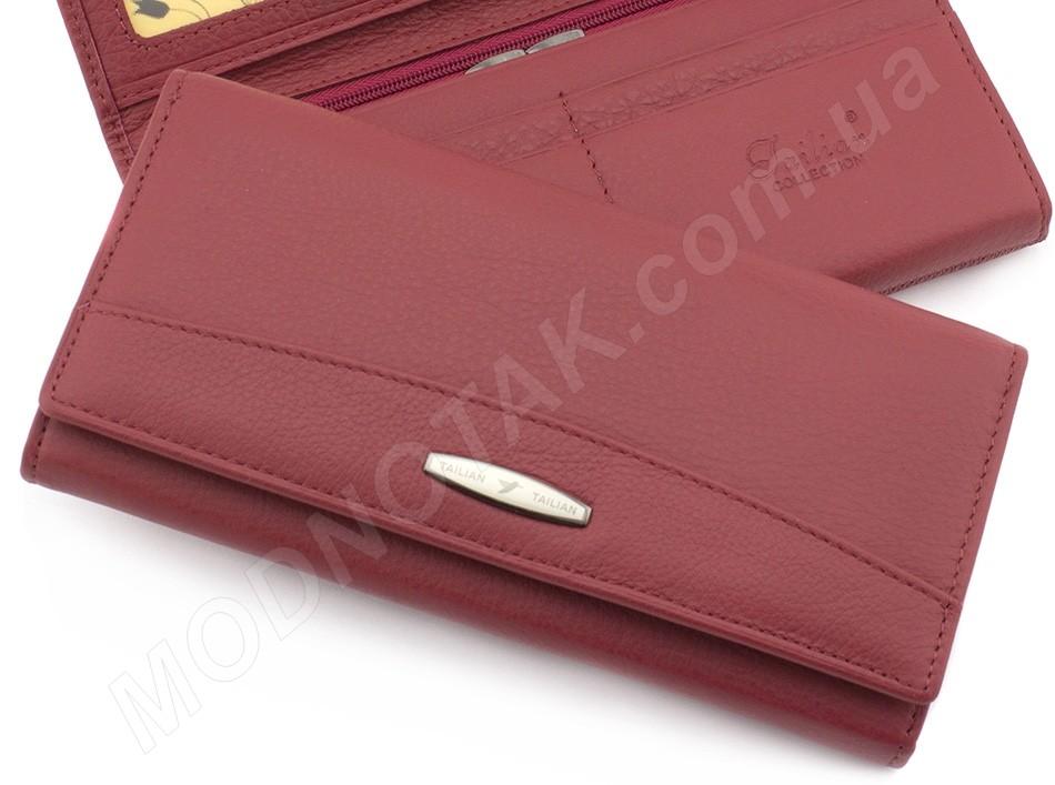 4e75abefc24e Красный женский кошелек из натуральной кожи Tailian - женские кошельки,  купить с ...