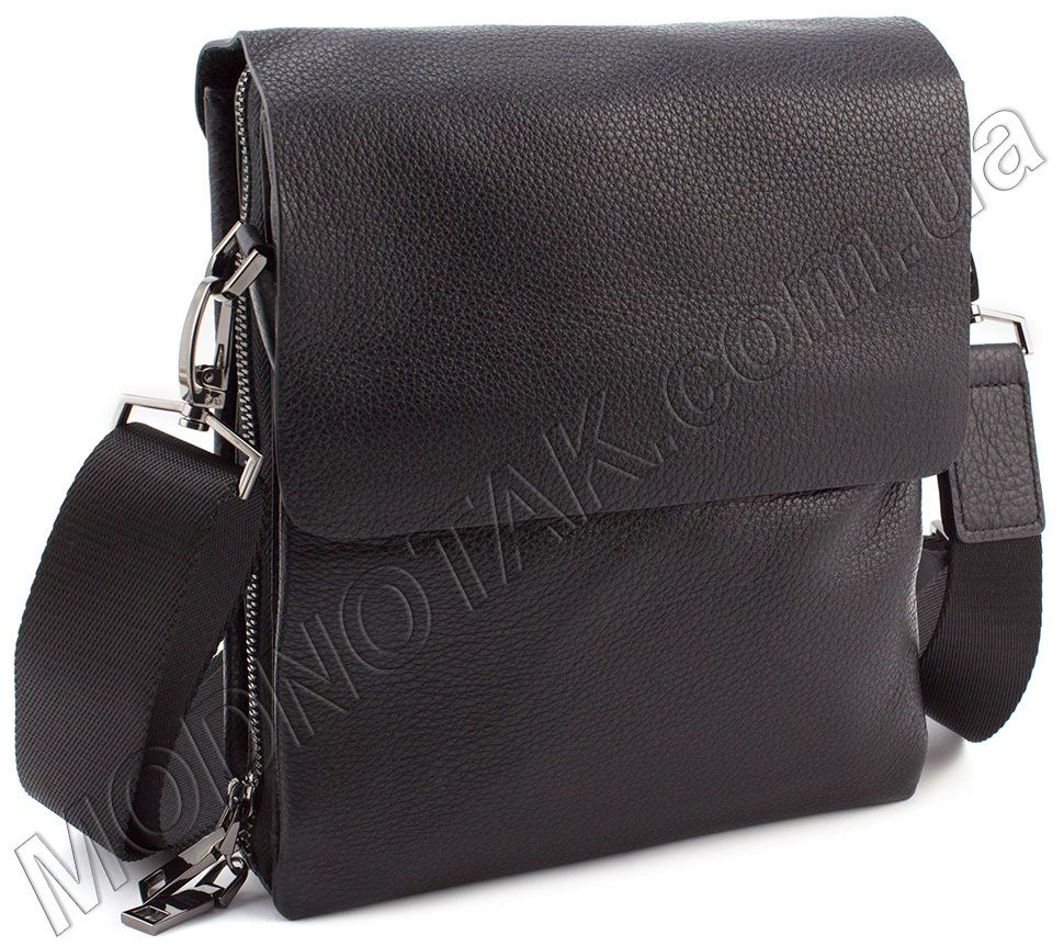 Кожаная мужская сумка-планшет на плечо KLEVENT (11606) купить в ... 367ab3f39ddd0