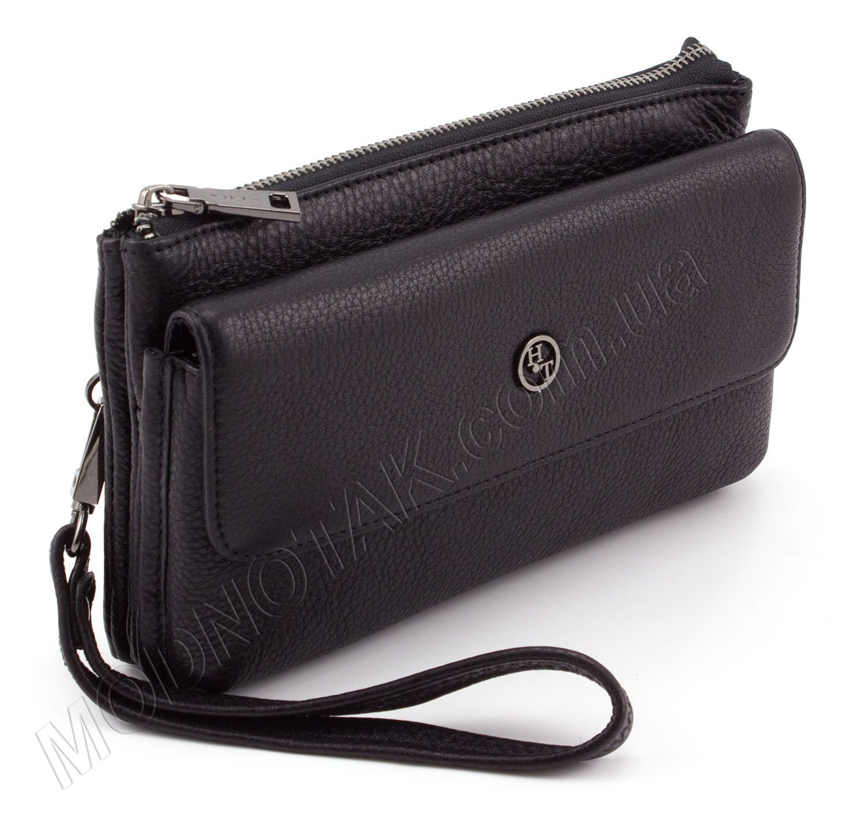 a1d1ac219674 Мужской кожаный клатч с ремешком на запястье H.T Leather: купить ...