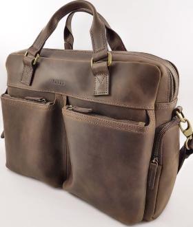 9e6c20acd102 Купить. Мужская кожаная сумка для документов и ноутбука VATTO (11854) ...