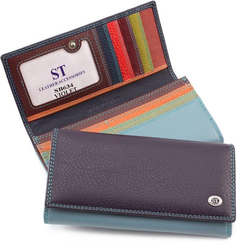 dc46ca073f82 Оригинальный кожаный кошелек для девушки ST Leather (16039) купить в ...