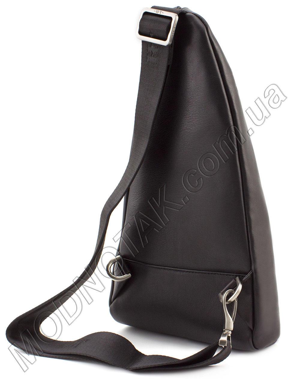 ad104c2f89e9 Стильный кожаный рюкзак на одно плечо HT Leather (12133) купить в ...