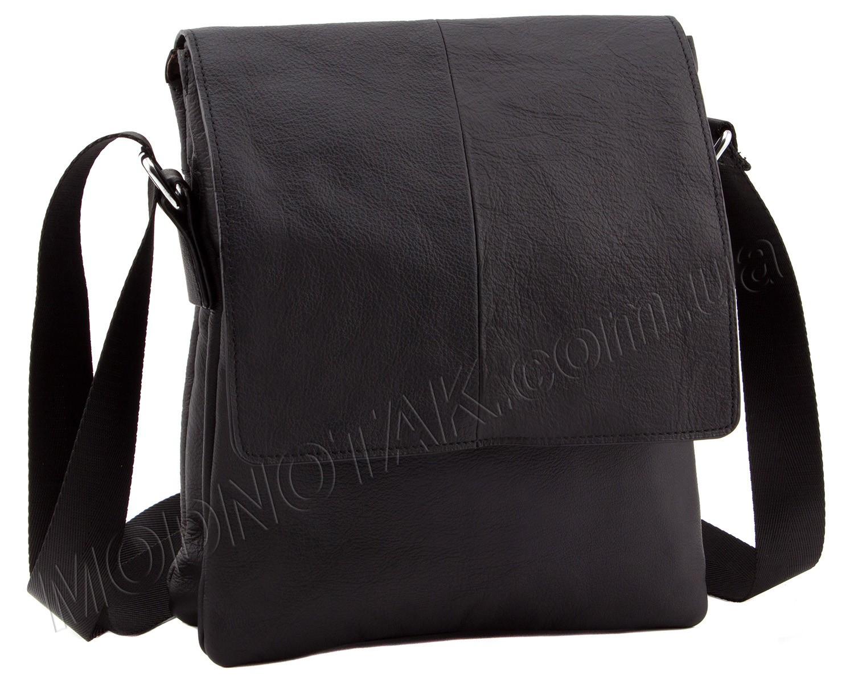 2ffb26cac72a Кожная мужская недорогая сумка на плечевом ремне Leather Collection (10380)