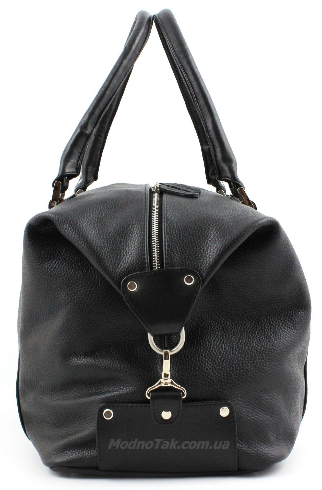6d3b1bb4f1f2 Дорожная сумка из итальянской натуральной кожи - для города и командировок  Travel Bag (10005)