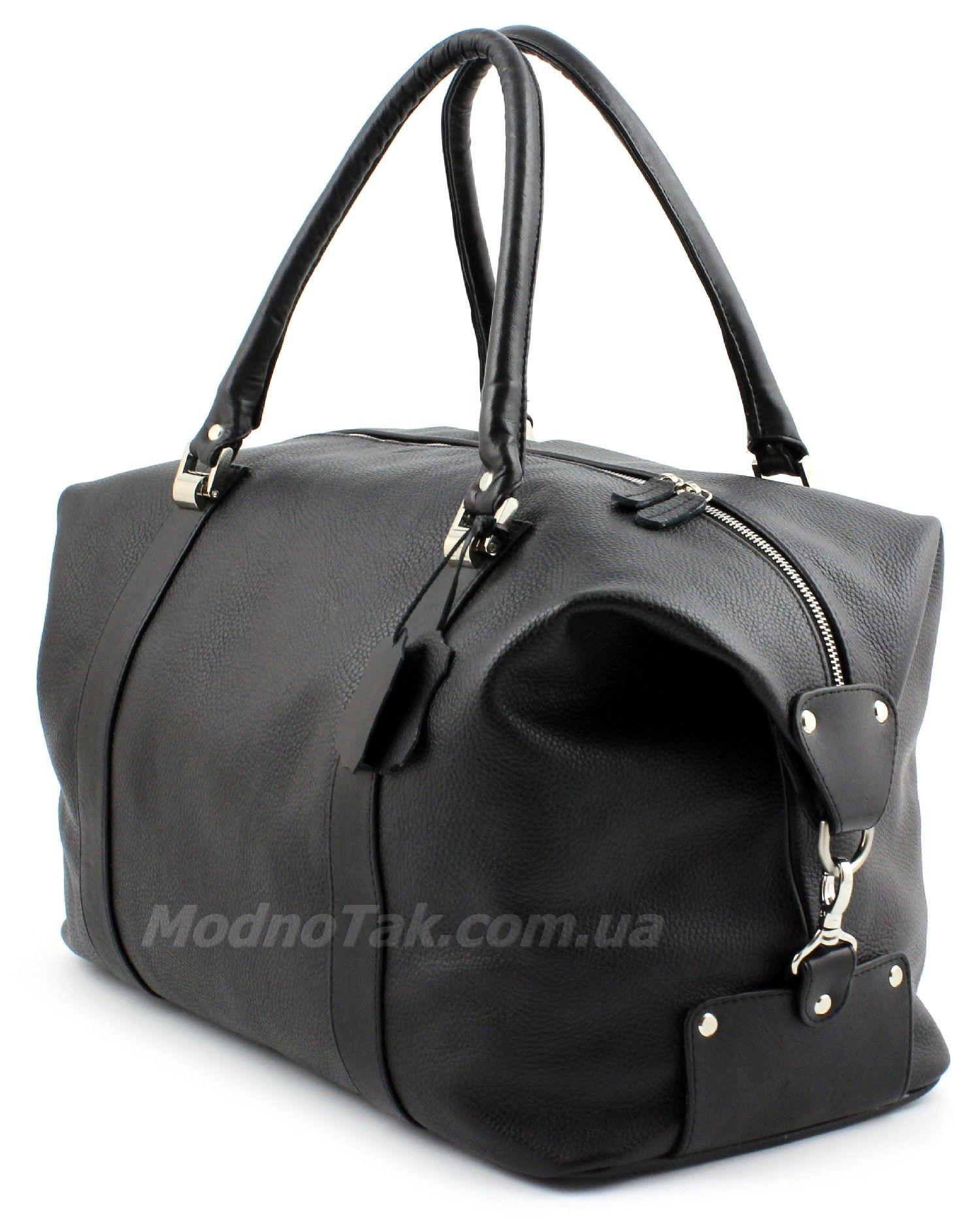 b2e188664306 Дорожная сумка из итальянской натуральной кожи - для города и командировок  Travel Bag (10005)
