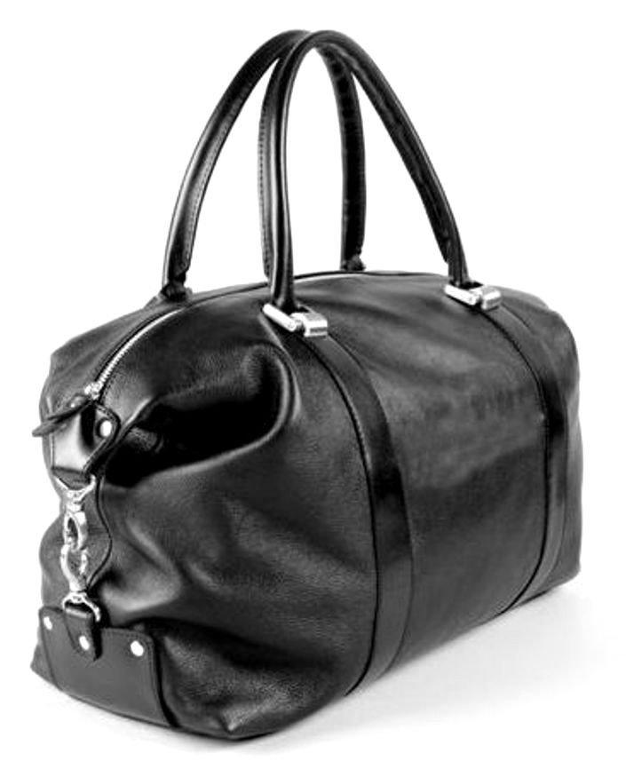 691f1f54eb69 Дорожная сумка из итальянской натуральной кожи - для города и командировок  Travel Bag (10005)