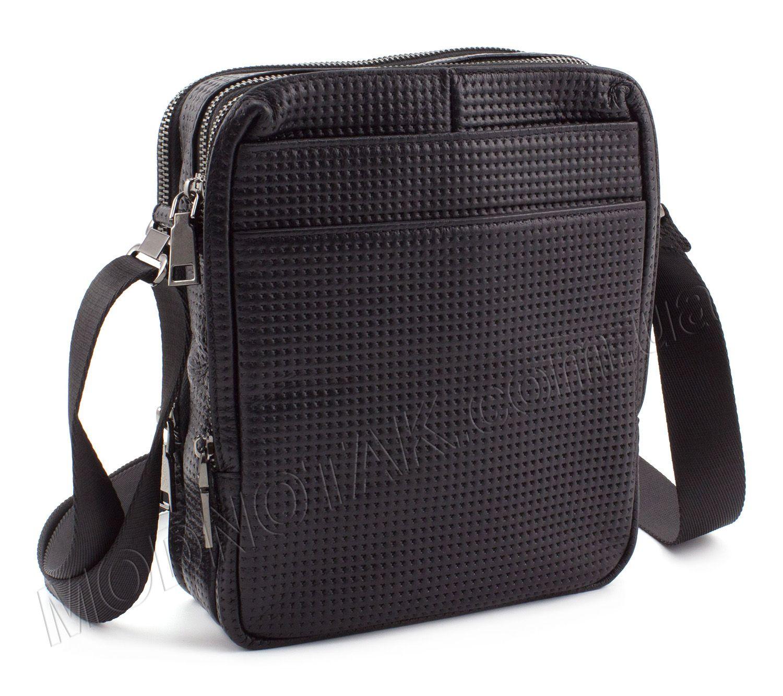 42e23976fe2e Оригинальная сумка из перфорированной итальянской кожи KLEVENT (10064)