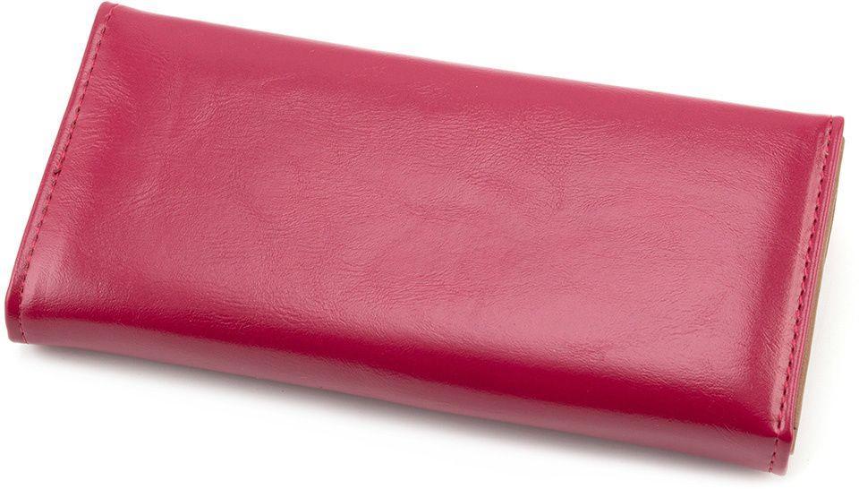 19cbd119b2e3 Женский розовый кошелек из глажкого кожзама Kivi (17934) купить в ...
