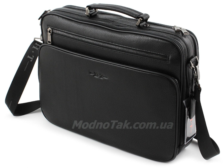 7560ced90ae9 Деловая вместительная кожаная сумка под ноутбук и документы - Marco Coverna  (10109)