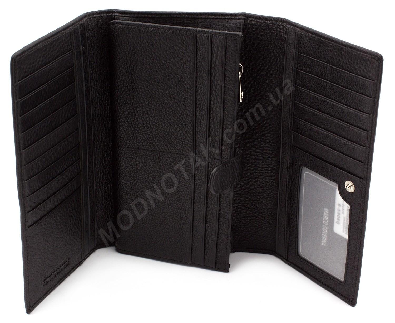 13d5cb0b9da7 Мужской большой кошелек - клатч из натуральной кожи Marco Coverna (18235)