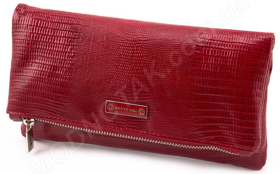 d5999297aff8 Женская кожаная сумочка - клатч Karya - женские сумочки, кожаные ...