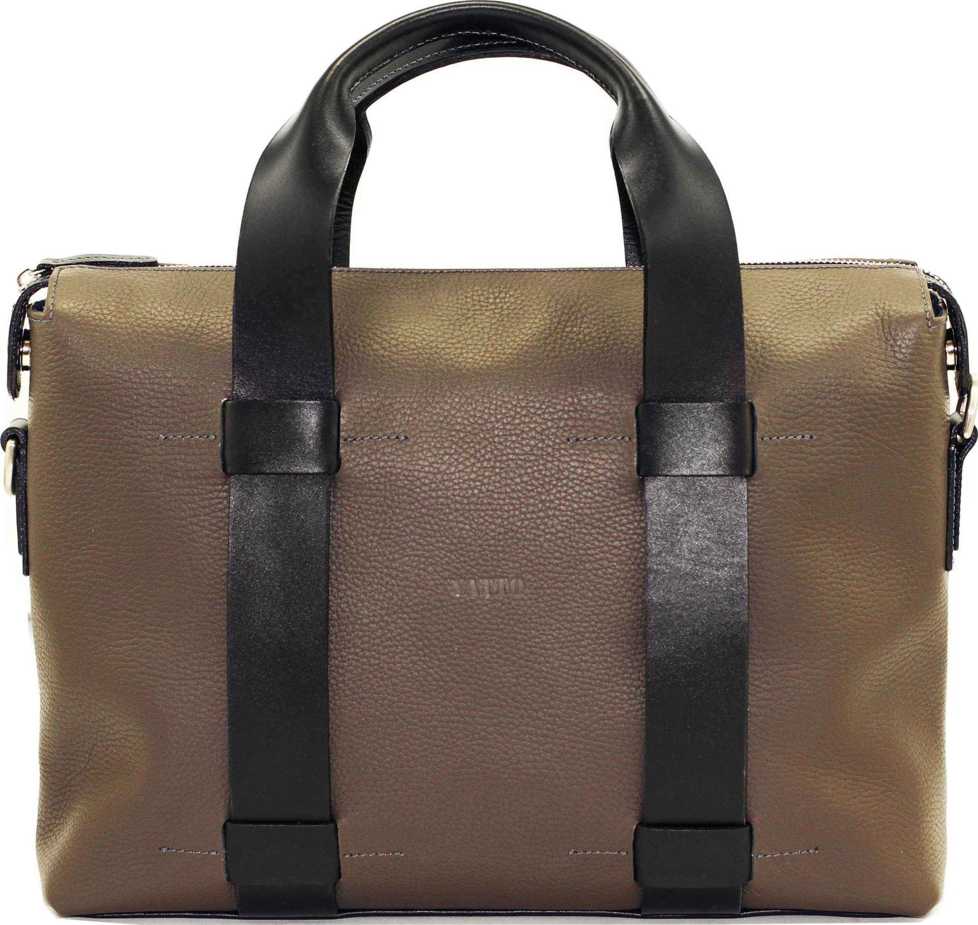 007a878a9c6c Мужская сумка серого цвета VATTO (11963) купить в Киеве, цена | MODNOTAK