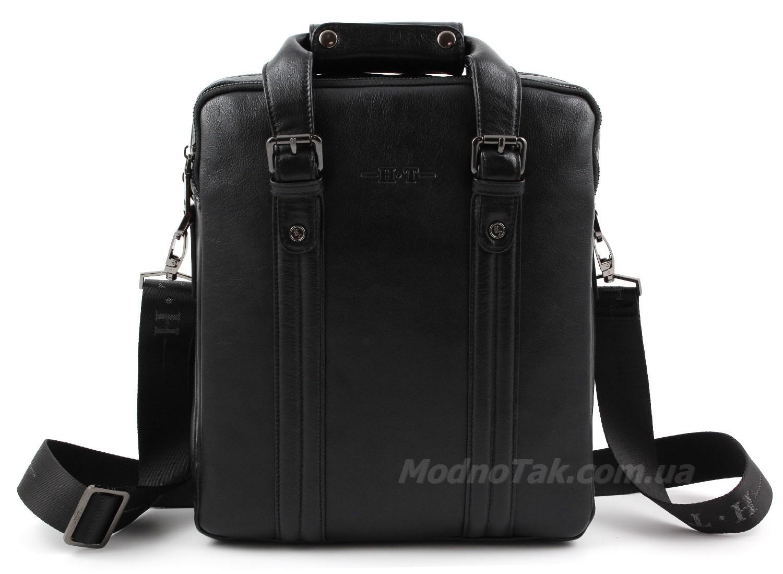 663ad80de2d7 Элитная деловая мужская сумка из натуральной кожи под А4 – H.T. Leather  (10206)
