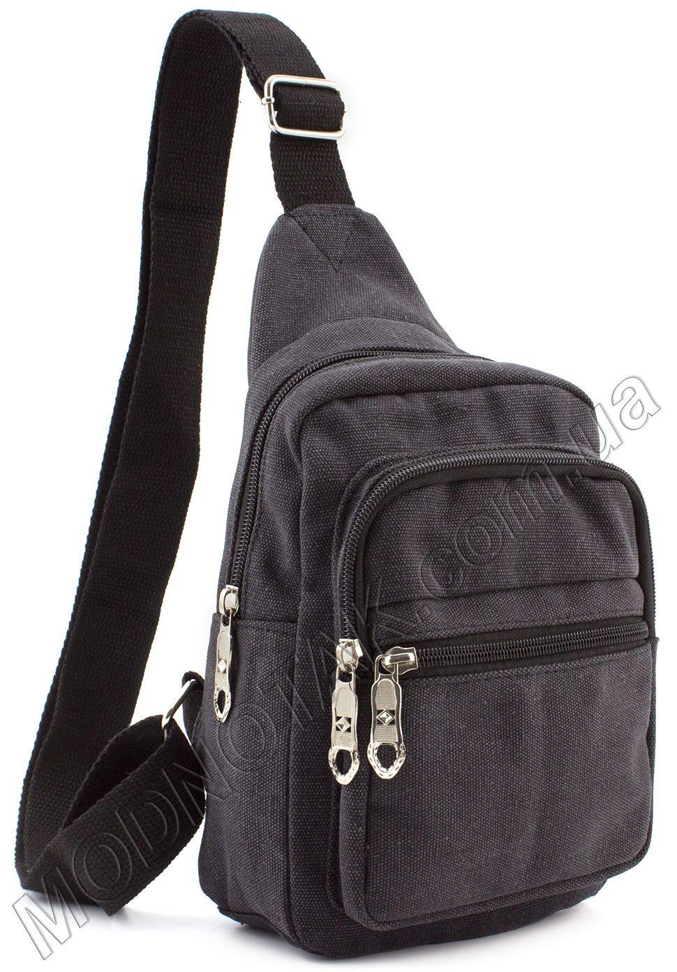 89218f648ee4 Мужской тканевый слинг рюкзак Bags Collection (10721) купить в Киеве ...