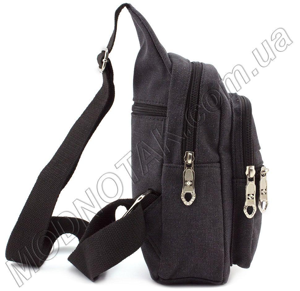 eac7e6ff9f68 Мужской тканевый слинг рюкзак Bags Collection (10721) купить в Киеве ...