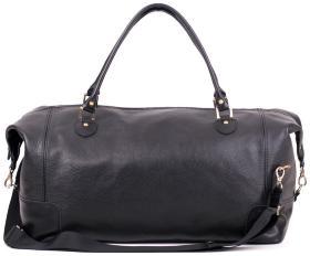 d0d1c3a871da Дорожная большая сумка из натуральной итальянской кожи Travel Leather Bag  (11002)