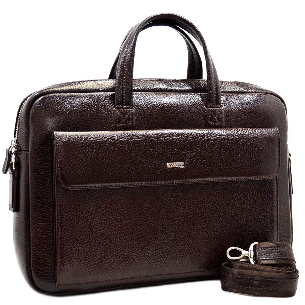 27bdb472780e Презентабельная кожаная сумка для делового мужчины - DESISAN (11561 ...