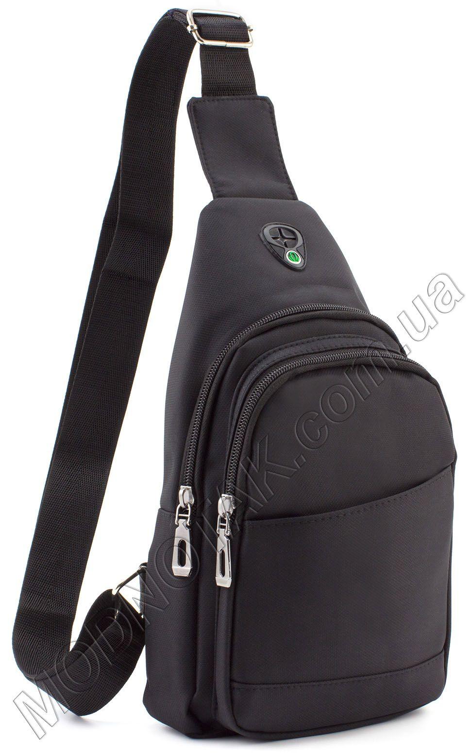 0c349de3151c Мужской тканевый слинг рюкзак Bags Collection (10717) купить в Киеве ...