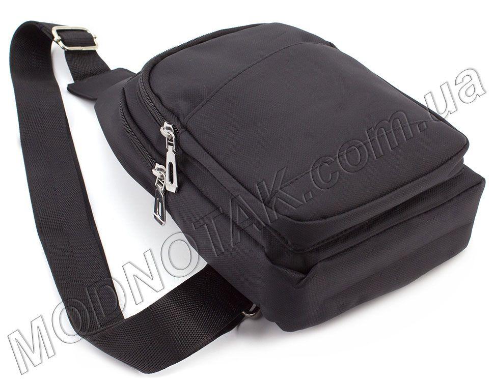 66e0fdd17b81 Мужской тканевый слинг рюкзак Bags Collection (10717) купить в Киеве ...