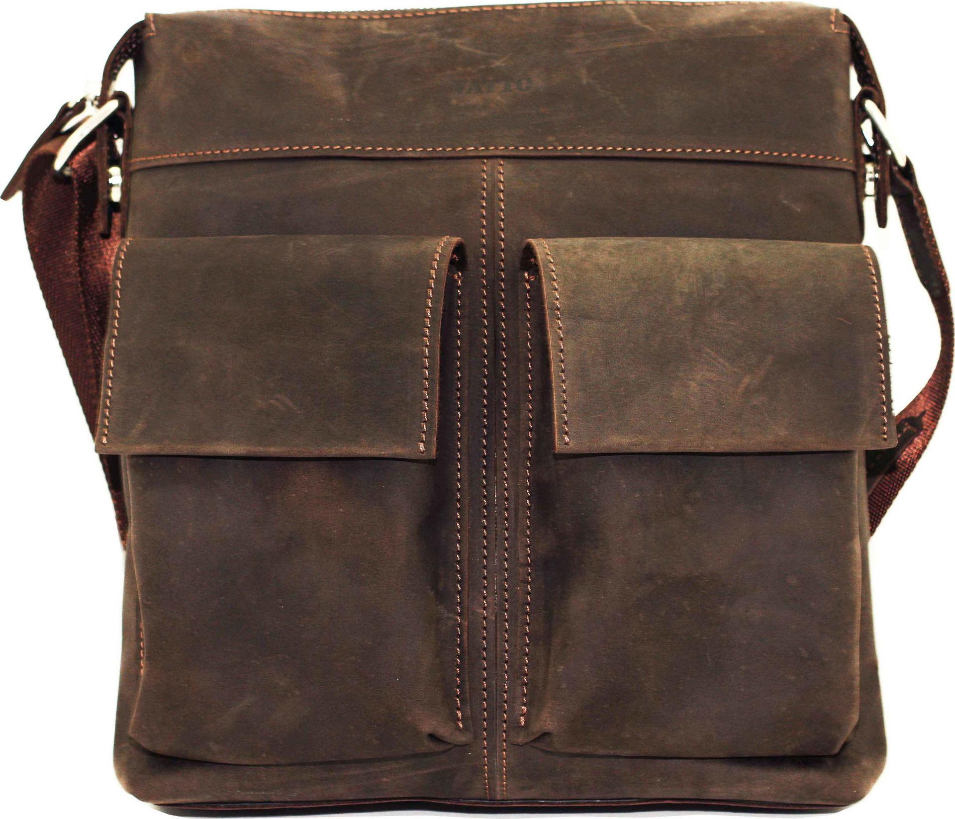 b2d6dbabaa8e Мужская сумка коричневого цвета VATTO (12069) купить в Киеве, цена ...