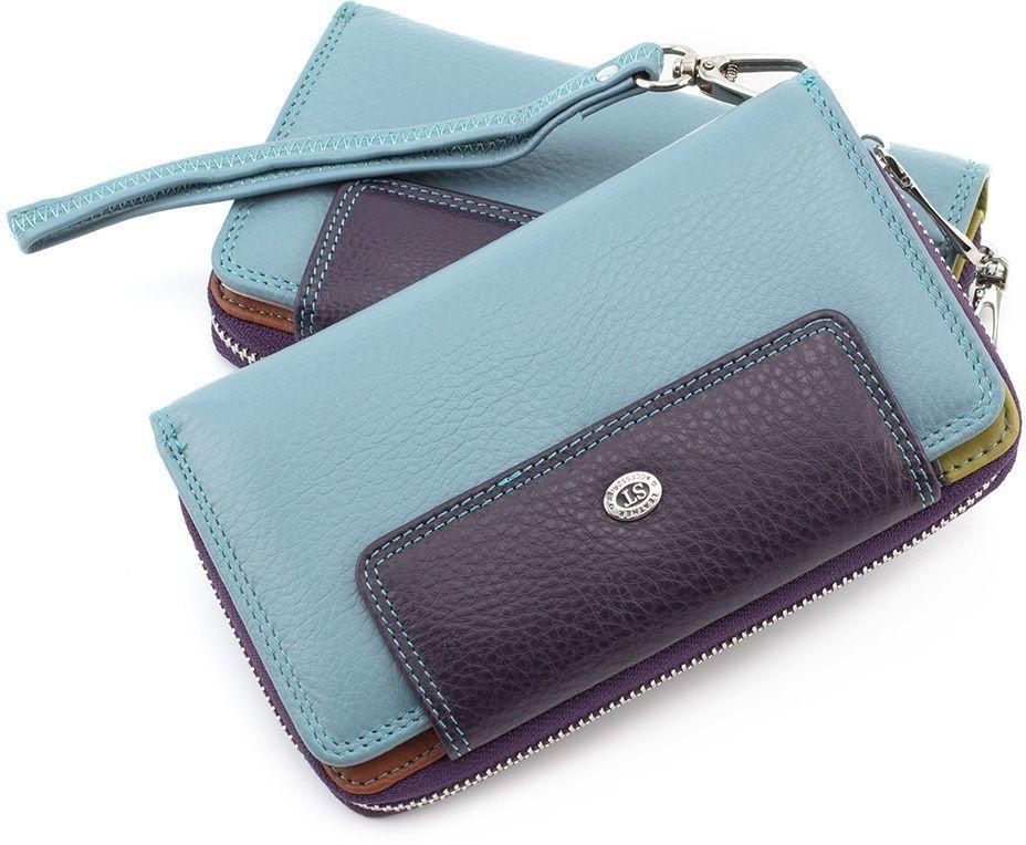 8e6622883b09 Цветной женский кошелек из натуральной кожи ST Leather (16013 ...