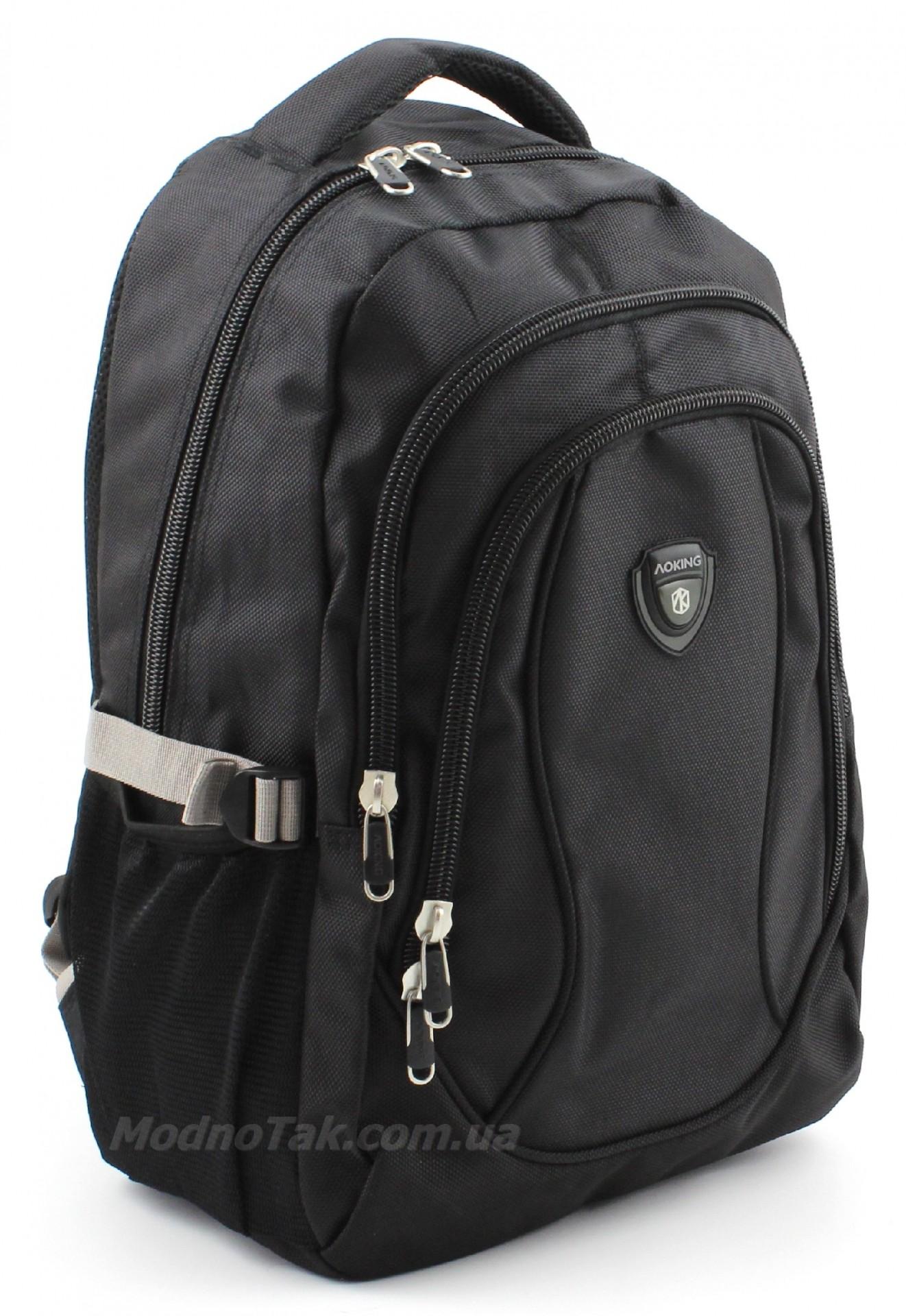 1cd3f4a4cb0b Современный очень качественный повседневный городской рюкзак AOKING (10015)