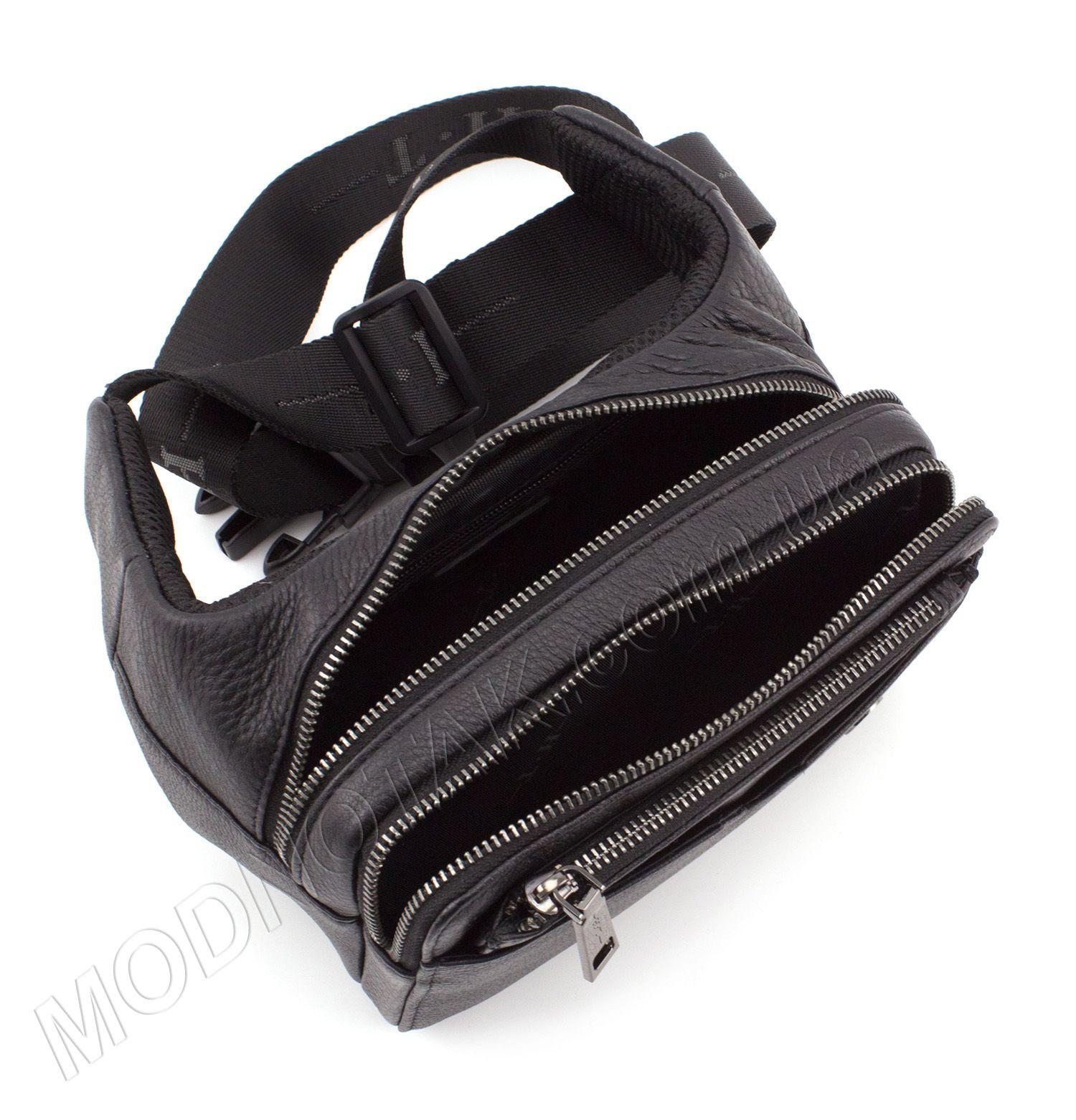 9ccc62e07073 Кожаная сумка бананка на пояс HT Leather: купить недорогую поясную ...