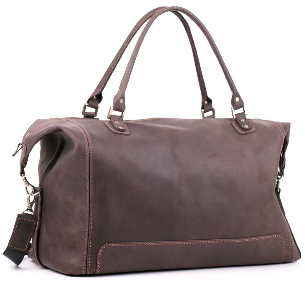 8e02093568fb Дорожная сумка в стиле винтаж из натуральной кожи Vintage Travel ...