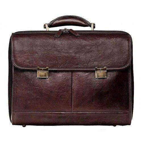 daf1061611df Элитный кожаный мужской портфель под документы и ноутбук от VIP COLLECTION  (0-2061)