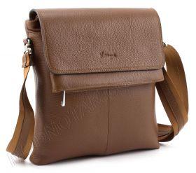 a8c031fb4431 Купить. Фирменная мужская сумка светло-коричневого цвета - KARYA (10395)