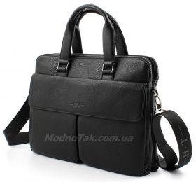5cc7080c1d3f Деловая кожаная сумка под документы А4 и ноутбук H.T Leather Collection  (10200)