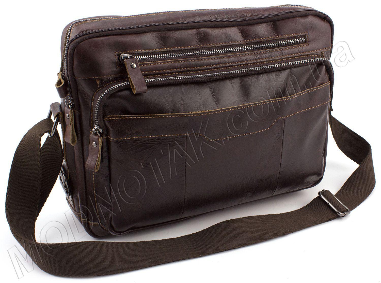 076209d88a67 Кожаная горизонтальная сумка на плечо KLEVENT: наплечная сумка ...