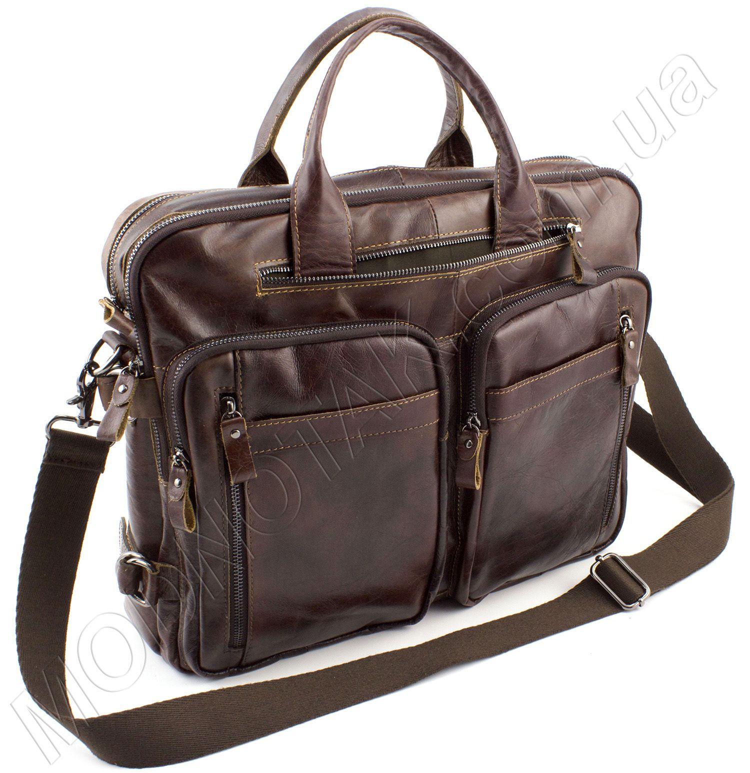 e3d8b7852d85 Кожаная сумка для документов KLEVENT: купить мужскую сумку из кожи ...