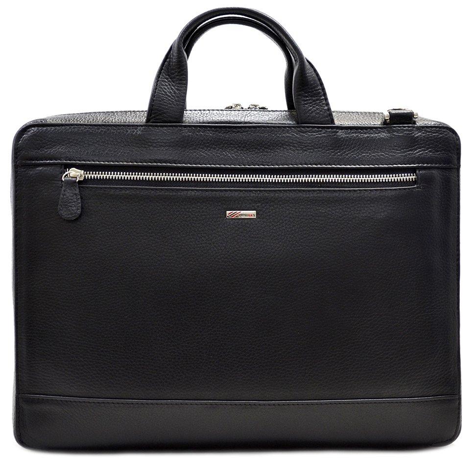 e2886ec254cc Классическая кожаная сумка для делового мужчины - DESISAN (11577 ...